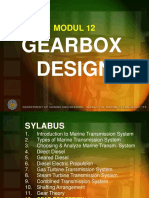 Chapter 12 - Gearbox Design