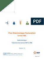 Guide Technique Facture EDF en XML V1.2