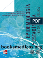 Libro Epidemiología y estadística en salud pública – Antonio Villa Romero, Laura Moreno Altamirano, Guadalue S. García de la Torre