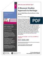 A Museum Studies Approach to Heritage