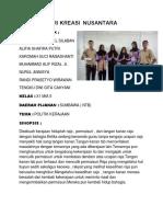 Tari Kreasi Nusantara