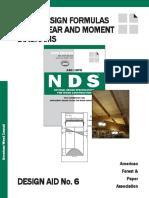 Beam Design Formulas With Shear & Moment Diagrams