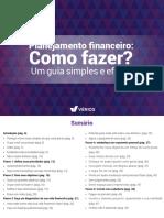 E-book Planejamento Financeiro - Vérios