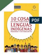 10 Cosas Que Debes Saber de Las Lenguas Indigenas
