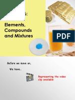 Ch06-Elements, Compounds & Mixtures