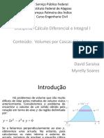 Cálculo 6.3 - Cascas Cilíndricas-1