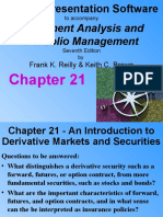 Chapter 21 - Introduction to Derivative Markets