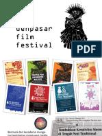 02 Presentation Denpasar Film Festival by Yusuf Kurniawan