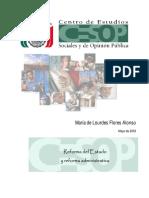 4. Reforma Del Estado (Flores Alonso), Pp. 1-30