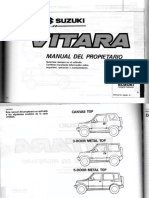Suzuki Vitara - Manual del Propietario.pdf