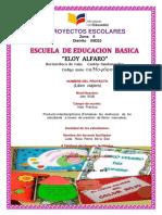Informe Final Proyectos Escolares Eloy Alfaro 2018 2019 El Libro Viajero