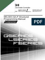 MITSUBISHI QL Structured Mode IEC Programming Manual Fundamentals