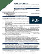 lisajoycartee resume 6 7 18pdf