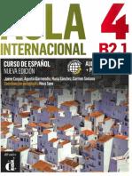 Aula Internacional 4 - Libro Del Alumno
