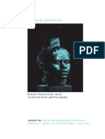 (SUNY Series in Gender Theory) Maria Del Guadalupe Davidson, Kathryn T. Gines, Donna-dale L. Marcano-Convergences_ Black Feminism and Continental Philosophy-State University of New York Press (2010)