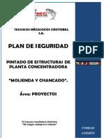 1. Plan de Seguridad - Pintado de Estructuras de Planta Concentradora