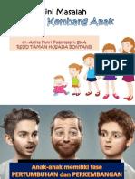 Deteksi Dini Masalah Tumbuh Kembang Anak Dr. Putri, Sp