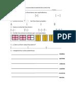 Prueba Monitoreo Matematica 7 Basico Bn