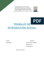 Integracion Social Trabajo 1