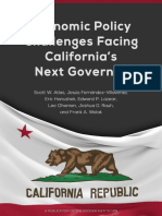Economic Policy Challenges Facing California's Next Governor