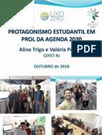 Apresentação - Aline Trigo e Valéria Pereira - CEFET-RJ
