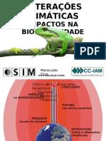 AlteracoesClimaticas&Biodiversidade Projectosim Mjoaocruz