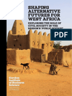 Shaping Alternative Futures for West Africa - Exploring the Role of Civil Society in the Region's 'Public Square'