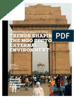 Strategic Scenarios.ngo Operating Environment in India