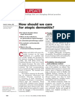How Should We Care for Atopic Dermatitis