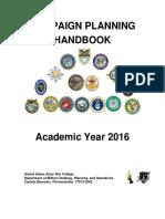 Campaign Planning Handbook