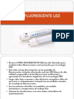 Tubo Fluorescente Led 2