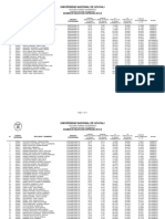 Resultado Examen Cepreunu 2013 III-Aguaytia