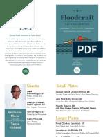 Floodcraft Oakland Taproom Menu