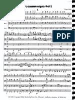 Hidas trombone quartet