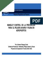 05_AF_MANEJO Y CONTROL EN LA PREVENCION PARA EL PELIGRO AVIARIO Y FAUNA EN LOS AERODROMOS 2011 [Compatibility Mode].pdf