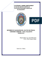 Iinforme Técnico de Validación Frejol 2016 (003)Verano