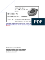 Simulado XXXIX - PCF Área 6 - PF - CESPE