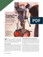 Drill Press Tune-Up