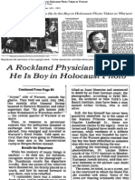 Rockland Physician Thinks He is the Boy
