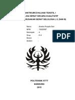 327386211 Jurnal Praktikum Evaluasi Tekstil 1
