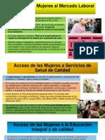 Acceso de Las Mujeres Al Mercado Laboral