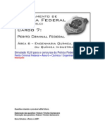 Simulado XLIII - PCF Área 6 - PF - CESPE