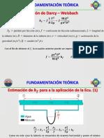 Prác. Lab. 2. Determinación Del Coeficiente de Fricción Longitudinal