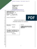 Pilot Inc. v. Pro-Truck Warehouse - Complaint