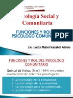 funcionesyroldelpsicologocomunitario-120321222944-phpapp02
