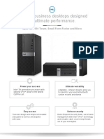 OptiPlex 7050 Towers Technical Specifications