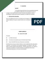 Ejemplo Informe Fisico Financiero Sobre El Calculo Avaluo
