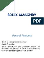 8. Brick Masonry