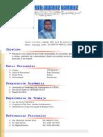 Curriculum Jorge Boaner Alvarez