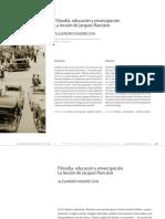 Madrid Zan, Alejandro - Filosofía, Educación y Emancipación